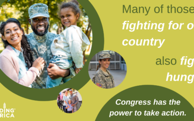 Help end military hunger